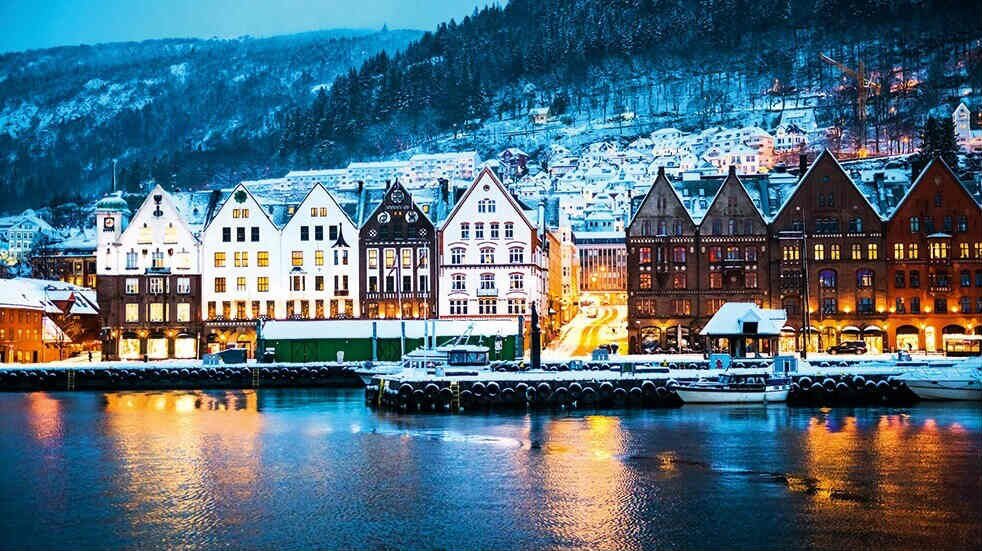 Best winter short-haul holidays: Bergen in Norway