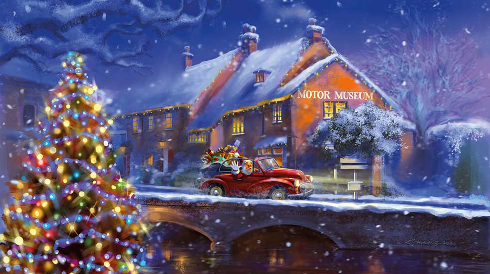 Boundless Breaks winter holidays motor museum Christmas