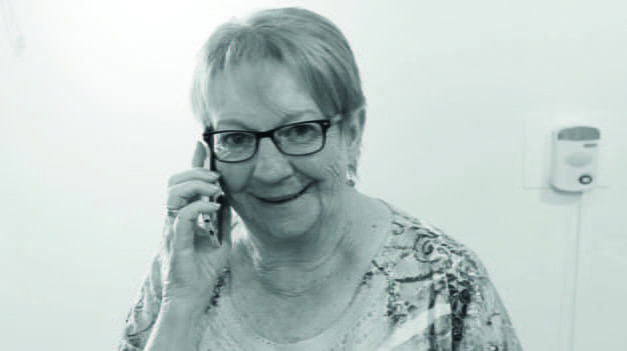 Joan, 73, from East Sussex, receives regular calls from an Indepedent Age telephone volunteer