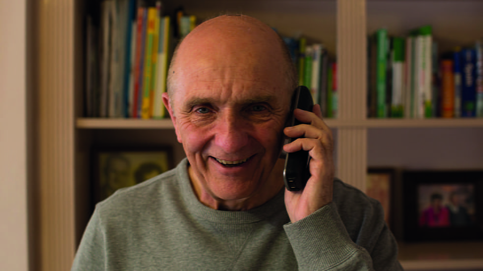 Joe Pick is a telephone volunteer for Independent Age