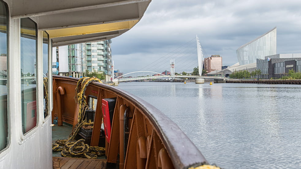 Boundless Social Breaks and Holidays Group: trip down the Manchester Ship Canal