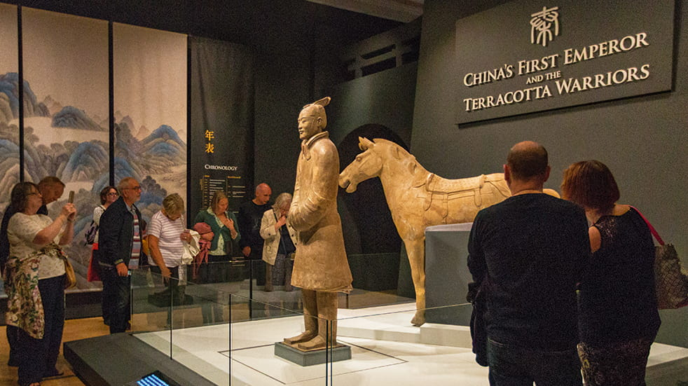Boundless Social Breaks and Holidays Group: Terracotta warriors exhibition in Liverpool's World Museum