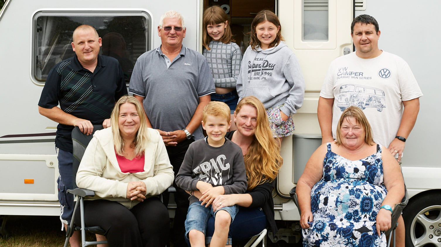 Boundless caravanners family