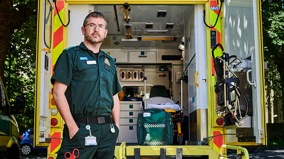 Boundless hero: Emergency Care Assistant Ambulance Service
