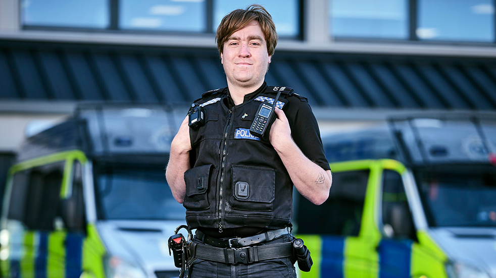 What's it like to be a police officer? Boundless Hero Andy Chapman