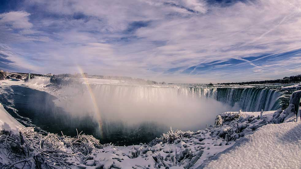 Winter experiences Niagara Falls winter