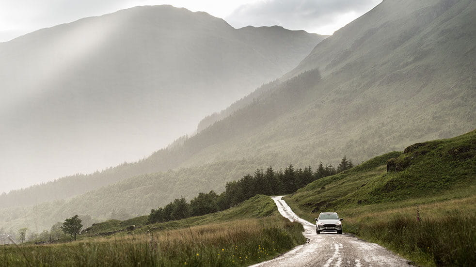 Britains best drive - scenic road