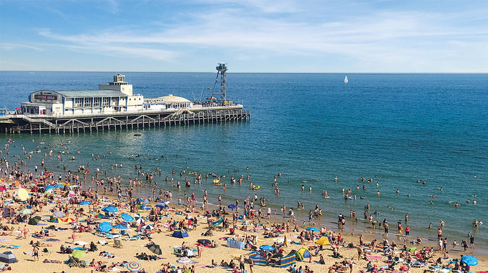 Britains best seaside holidays - beach