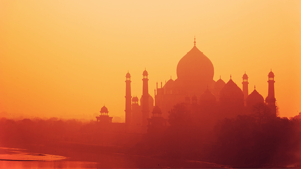 Bucket list holiday destinations: India, Taj Mahal