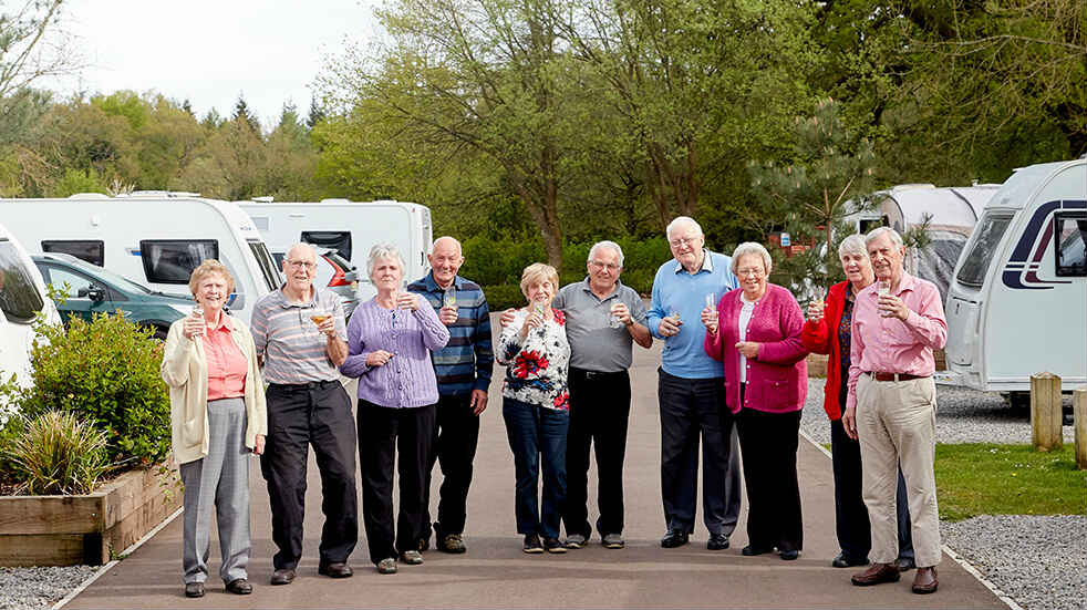 Camping and Caravanning Group: Whitemead rally