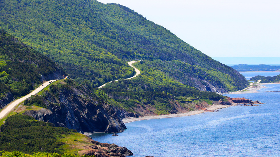 Road trip in canada on the cabot trail