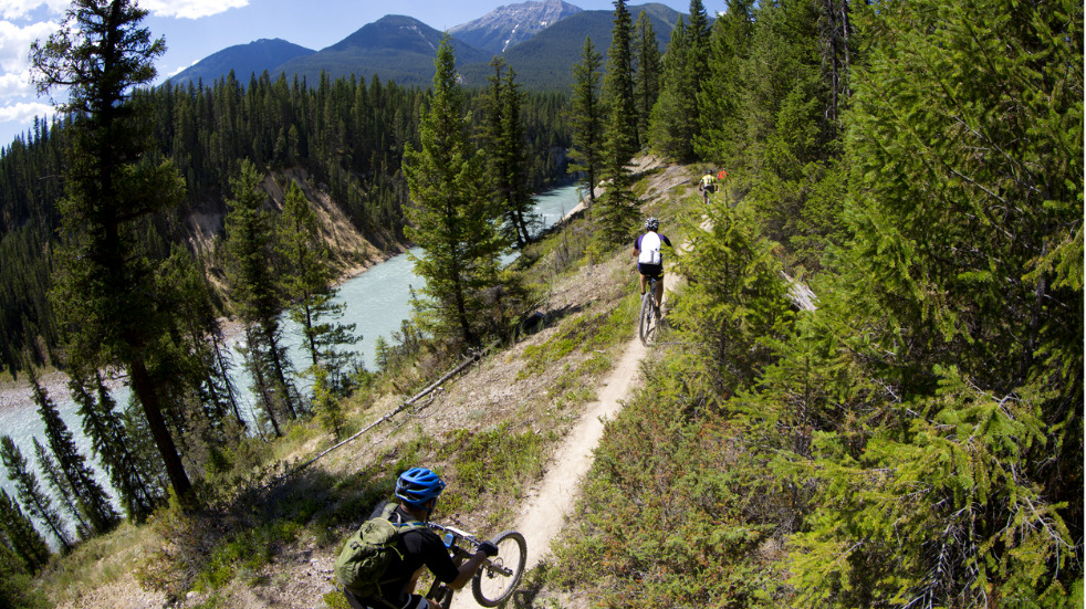 best places for mountain biking in the canadian rockies