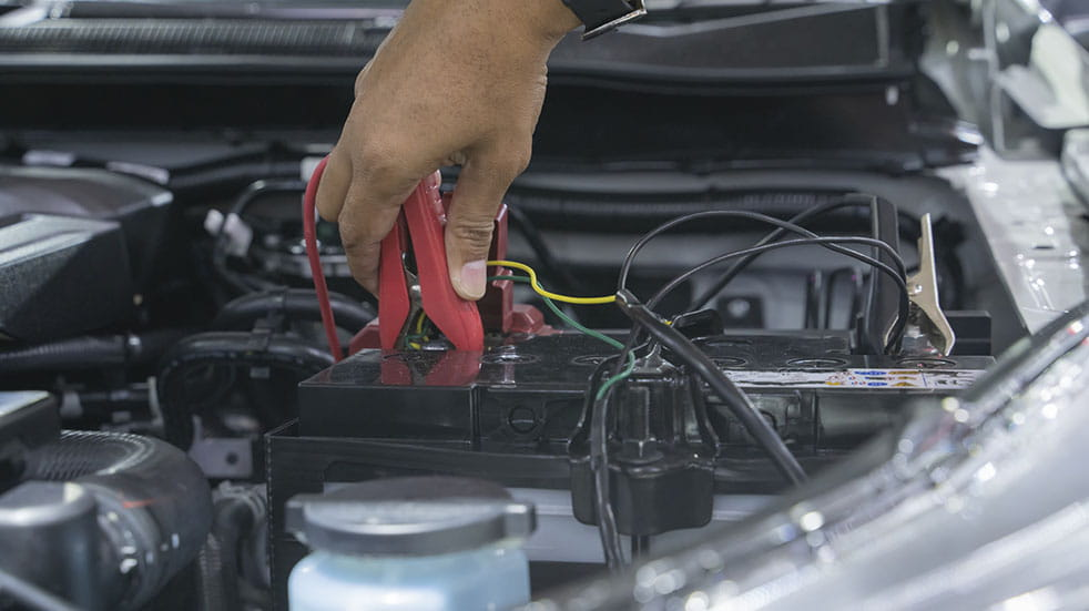 Car maintenance; battery charge