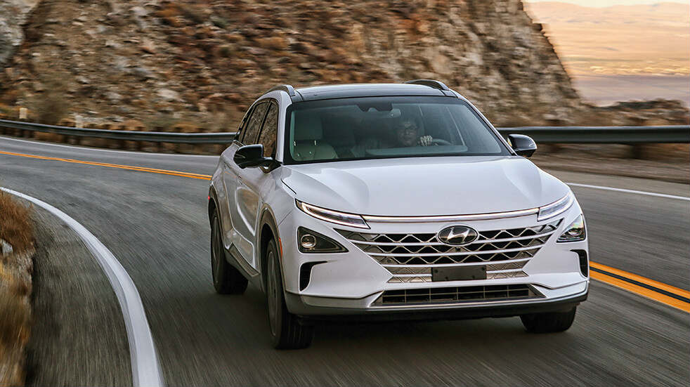 Best new cars summer 2019: Hyundai Nexo hydrogen fuel cell