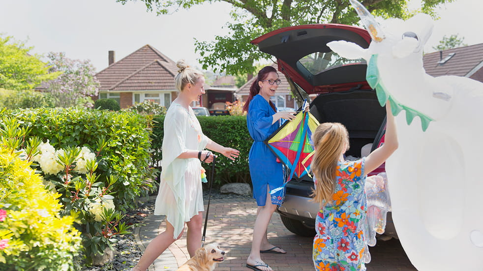 Car safety checks for summer: packing for a road trip