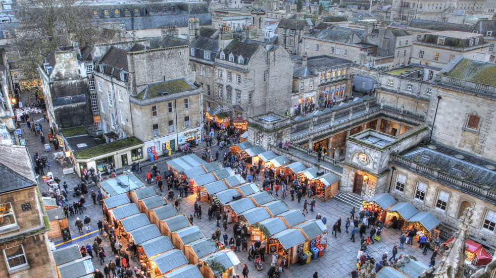 Things to do at Bath Christmas market