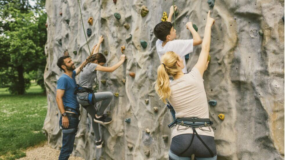 The best places to go climbing as a family