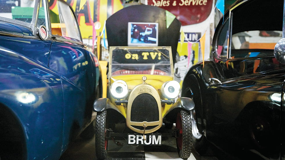 Bourton-on-the-Water: Brum at the Cotswold Motoring Museum