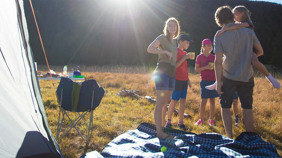 Cotswold Outdoor family camping