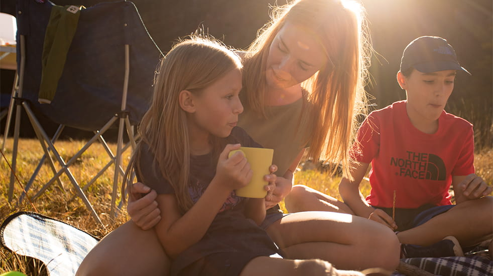 Cotswold Outdoor family camping equipment