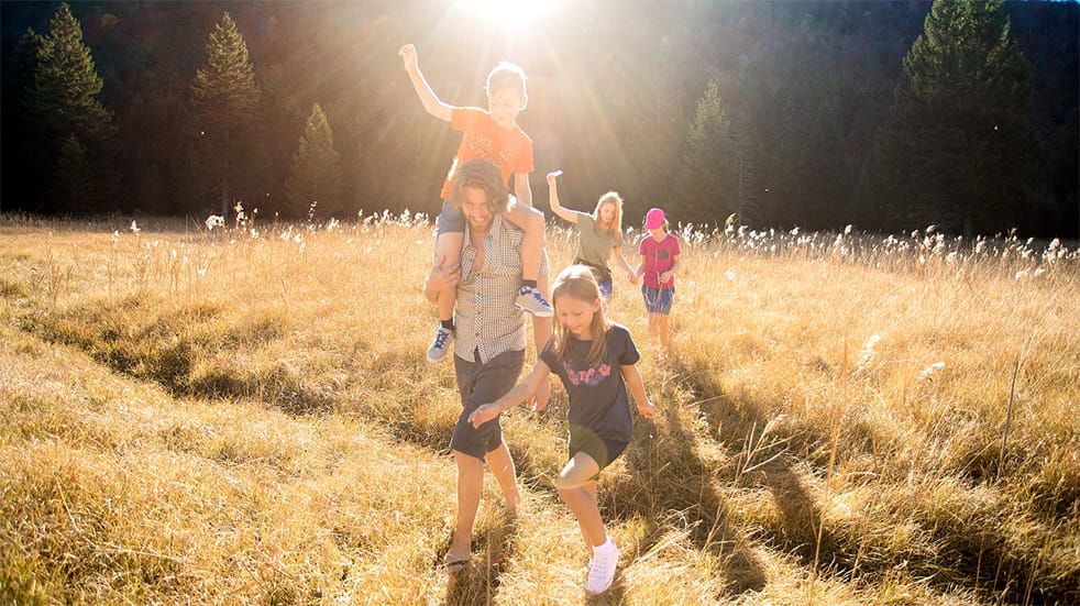 Cotswold Outdoor family summer activities