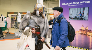 Viking at Cruise Show Olympia
