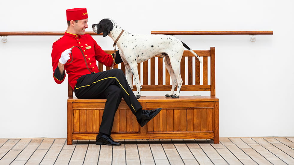 Cunard cruise guide: kennels on transatlantic cruise