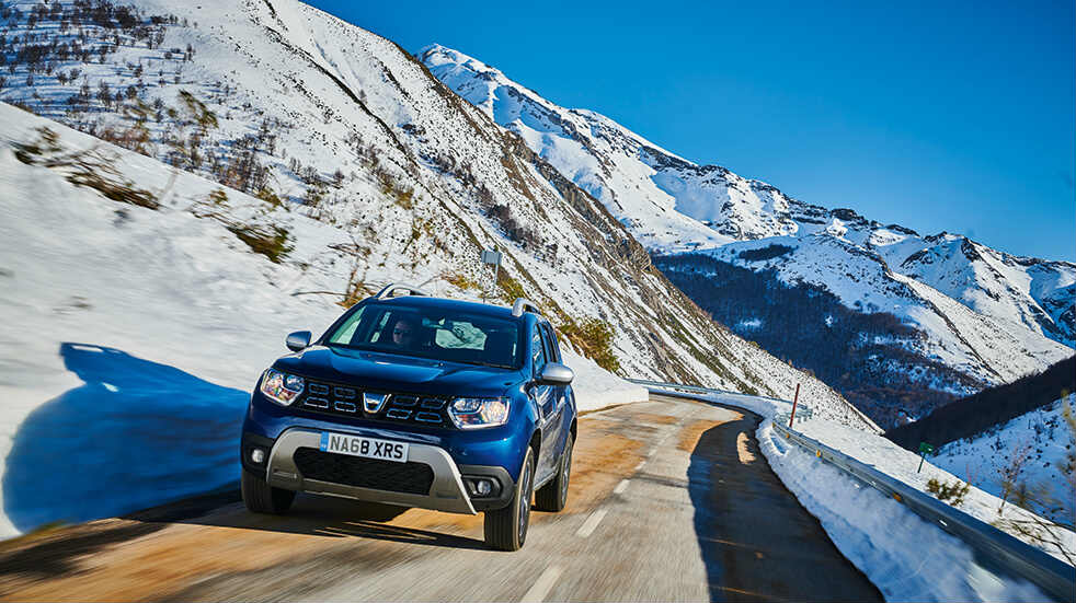 Dacia Duster in Spain's Picos de Europa mountains: wildlife watching