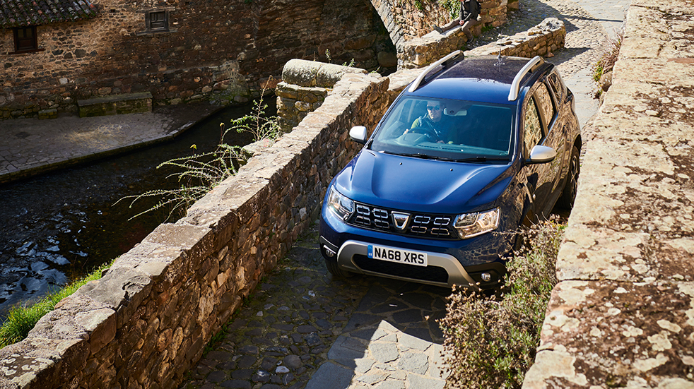 Car review Dacia Duster: Spanish roads