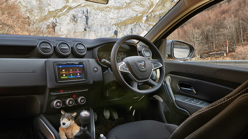 Car review Dacia Duster: interior