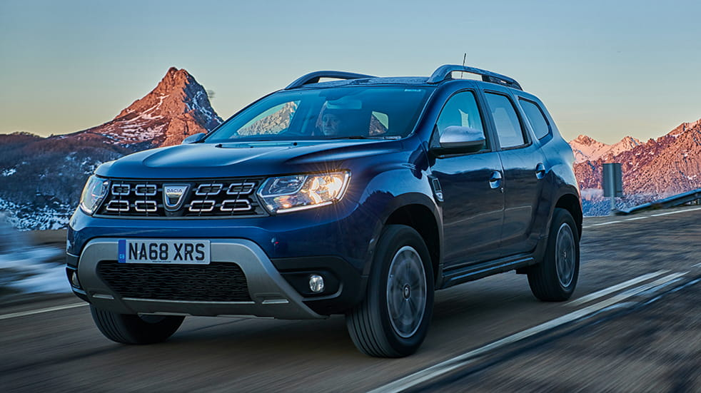 Car review Dacia Duster: Spanish mountains