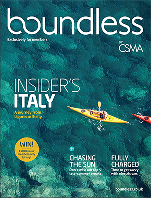 September - October Boundless Cover