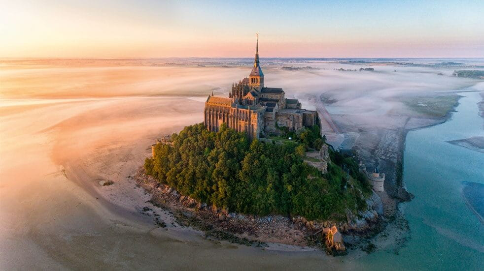 Mont Saint-Michel:  stay overnight to beat the crowds
