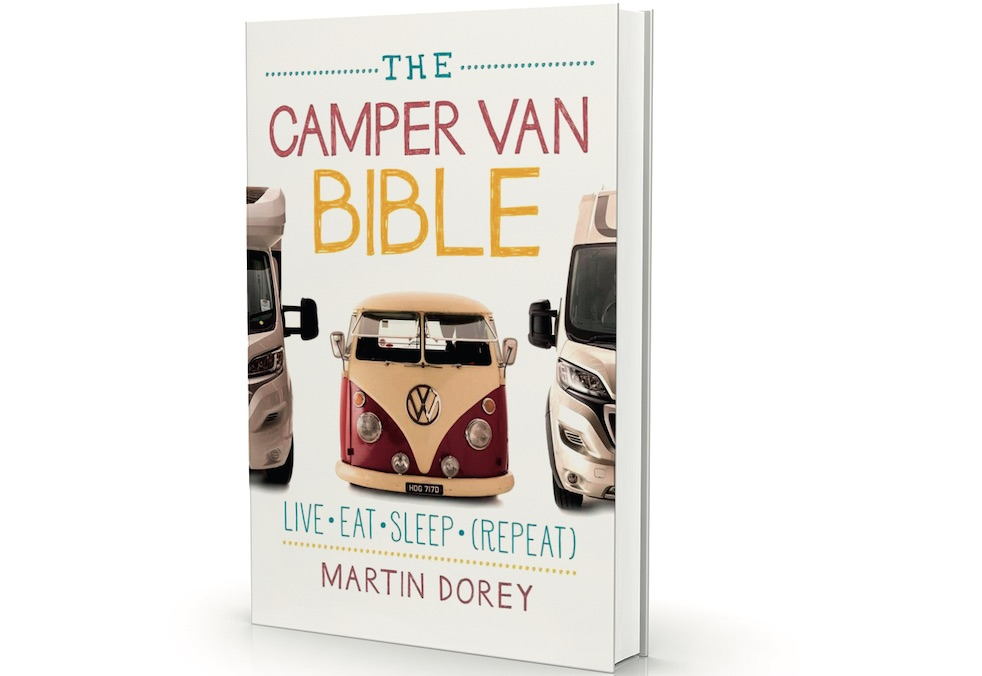 Luxury camping and glamping gear: The Camper Van Bible book