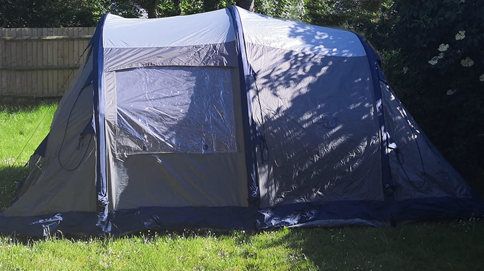 Luxury camping and glamping gear: Easy Camp Tempest 500 air tent
