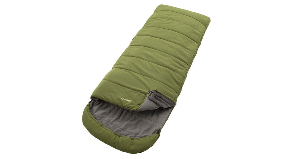 Luxury camping and glamping gear: Outwell Colibri Lux sleeping bag