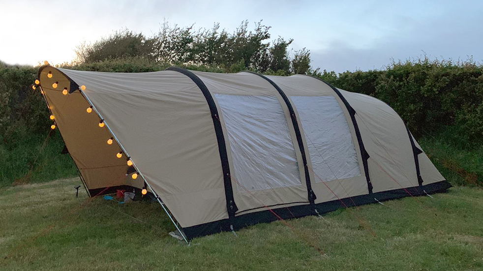 Luxury camping and glamping gear: Robens Woodview inflatable tent