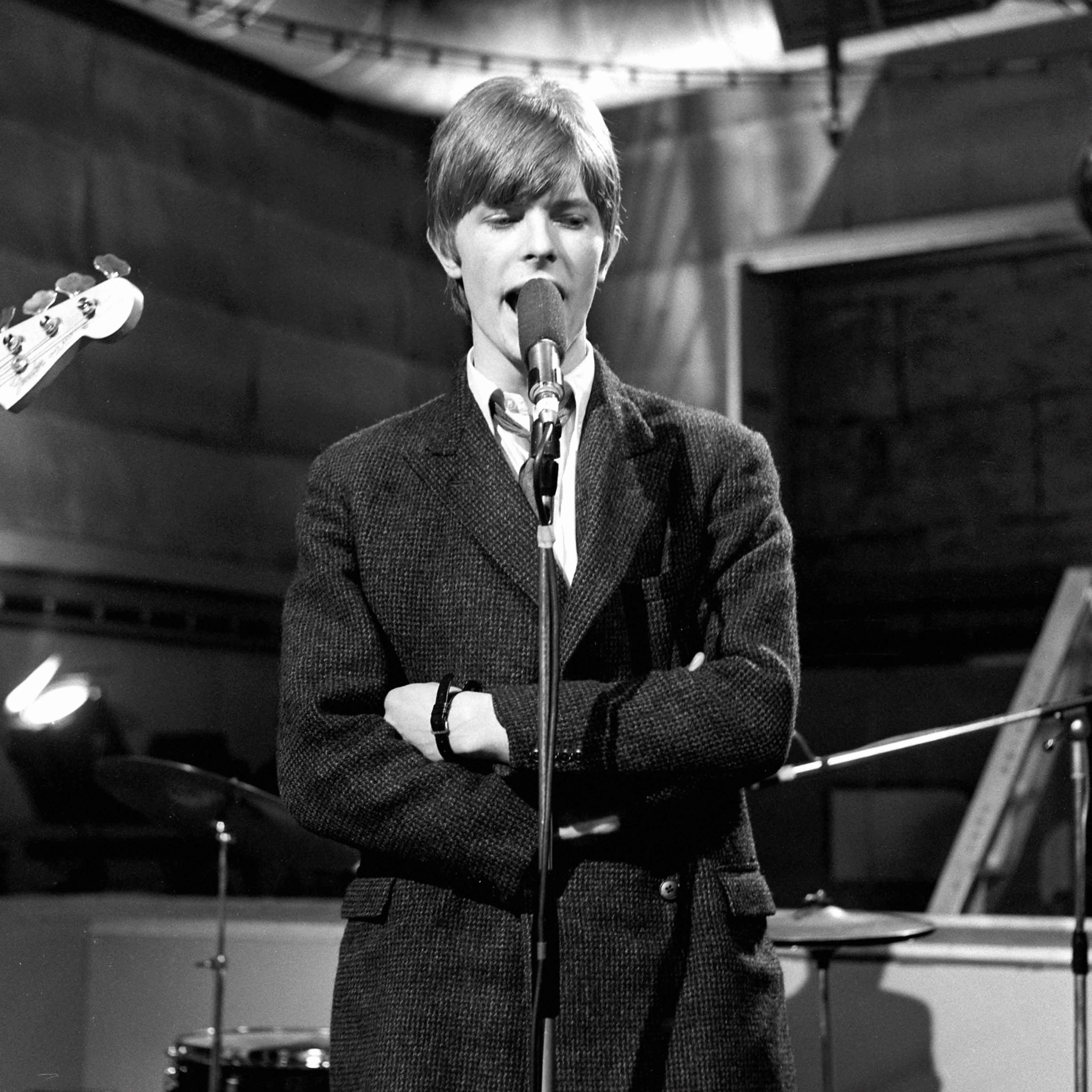 David Bowie and The Buzz in 1966
