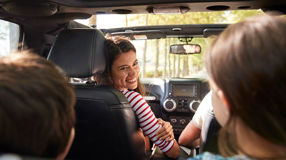 Enterprise car rental: hire a car for a family holiday