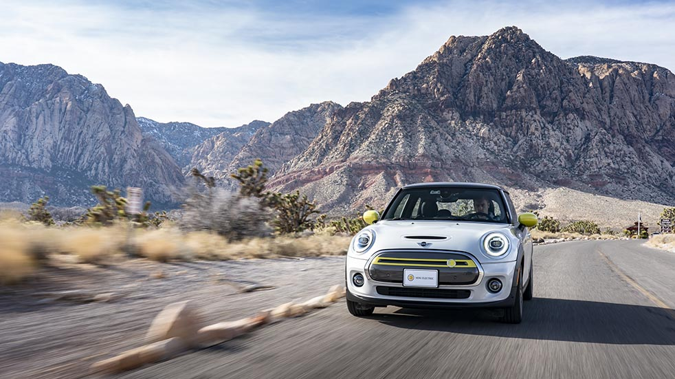 Essential Six car reviews May and June; Mini Electric