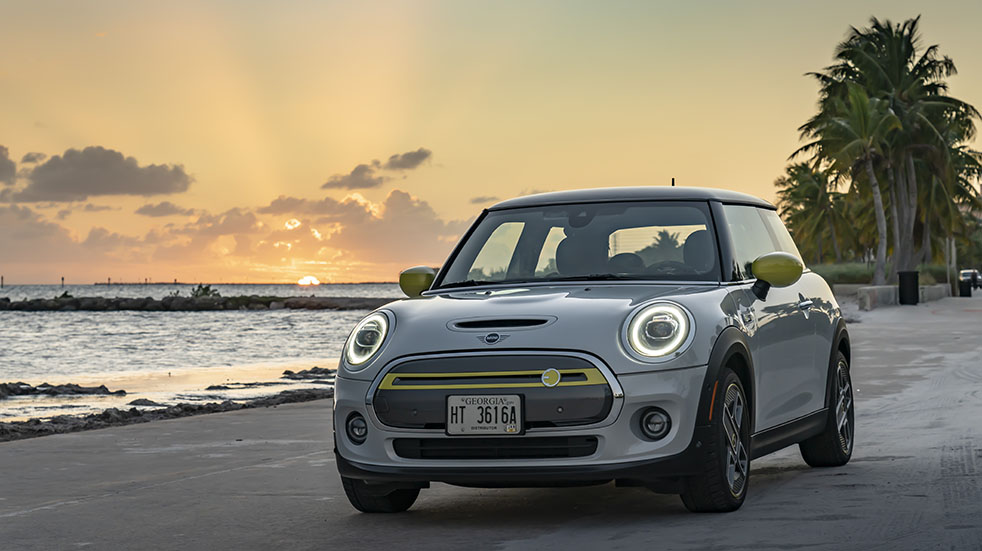 Essential Six car reviews May and June; Mini Electric 2