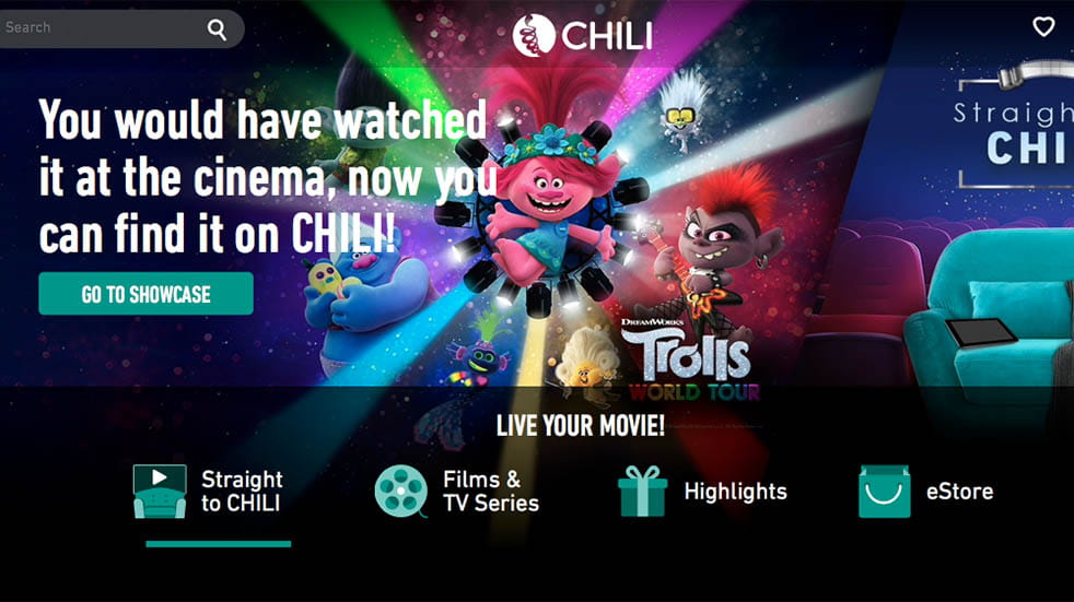 TV streaming; CHILI