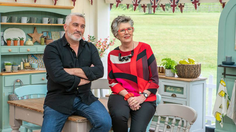 TV streaming; The Great British Bake Off