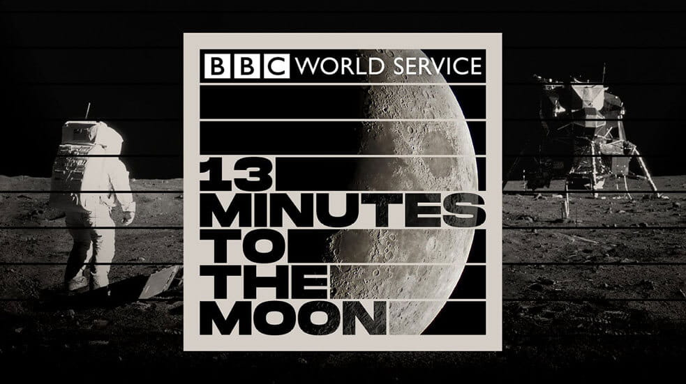 Everything you need to know about podcasts; 13 Minutes to the Moon
