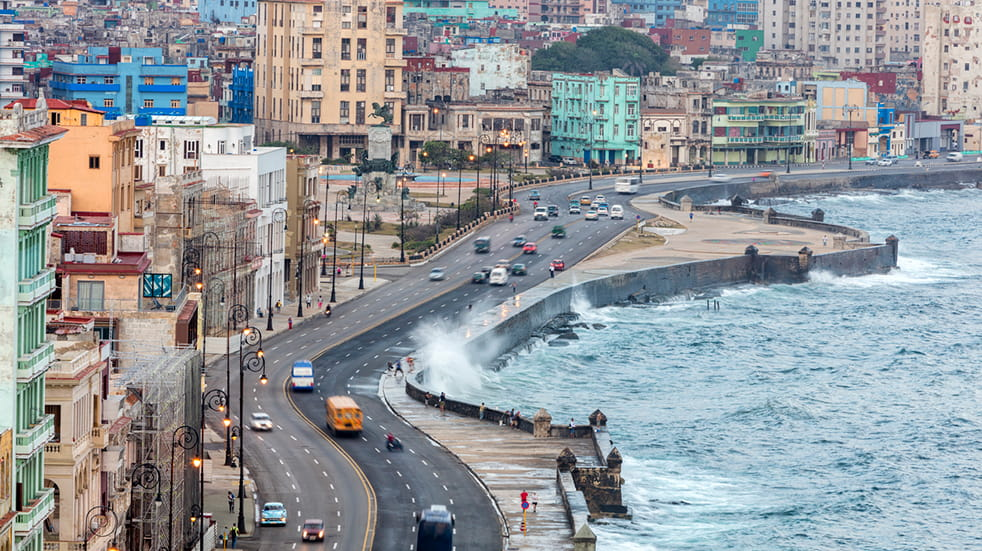 Expert guide to Cuba - The Malecon Havana