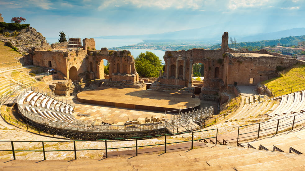 The expert guide to Sicily: Taormina Greek theatre
