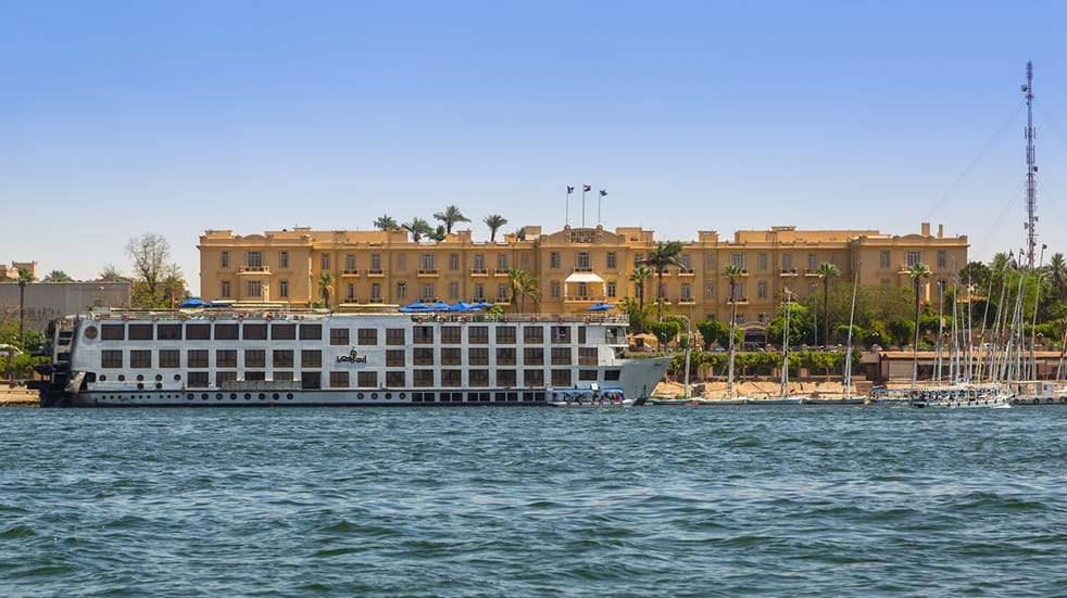 Expert guide to the Nile: the Old Winter Palace