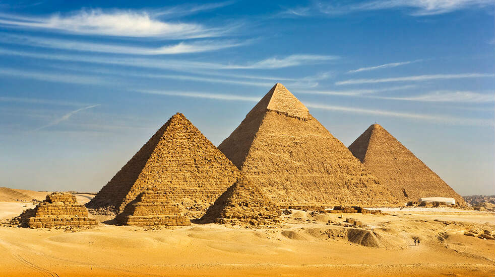 Expert guide to the Nile: Egyptian pyramids