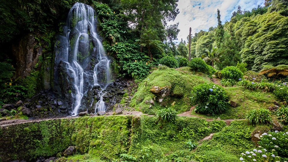 Explore Azores islands waterfall: Sunvil