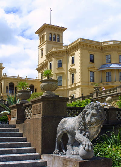 Osborne House, formerly home of Queen Victoria